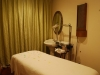 Relax and enjoy a massage in our tranquil massage quarters.